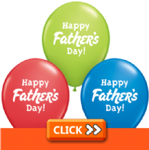 Fathers Day Latex Balloons